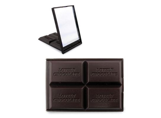 Зеркальце Плитка шоколада фото