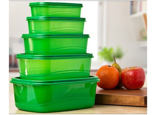 Контейнеры для хранения продуктов Always fresh, 5 шт. фото