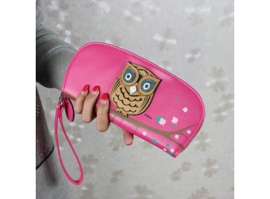 Женский кошелек Сова фото