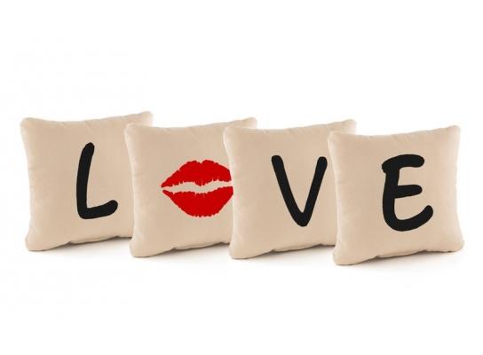 Подушка - квартет Love фото