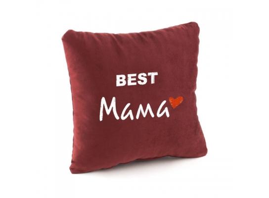 Подушка сувенирная Лучшая в мире Мама фото