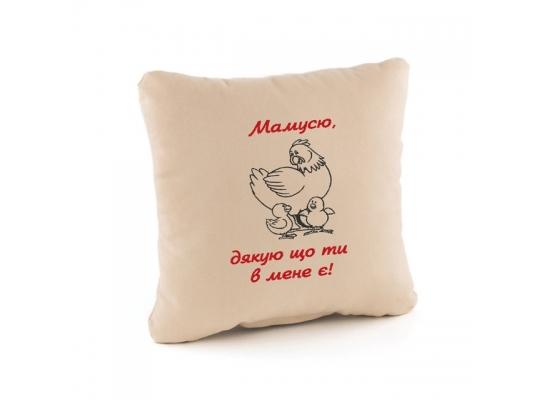 Подушка подарочная Мамусю, дякую тобі фото