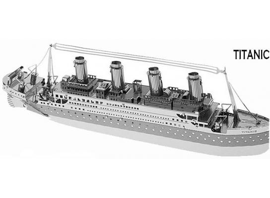 3D конструктор Титаник фото