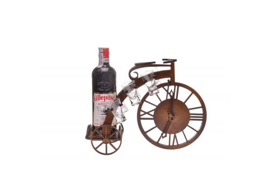 Бар настольный Велосипед с рюмками фото