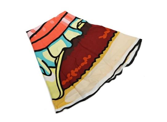 Пляжный коврик Гамбургер фото