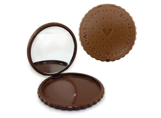 Зеркало Шоколадное печенье фото