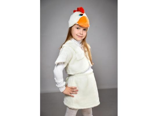 Детский карнавальный костюм Курочка фото 1