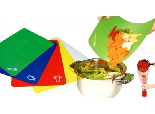 Набор гибких досок (подходит для керамических ножей) фото