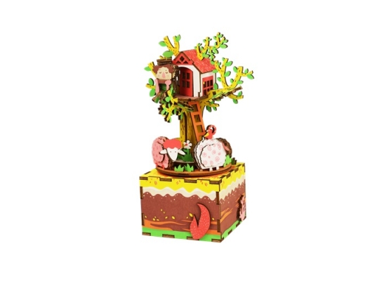 Музыкальная шкатулка «сделай сам». «Домик на дереве» фото