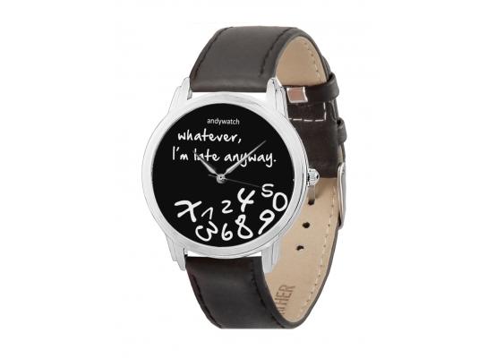 Наручные часы Я не опаздываю синие фото