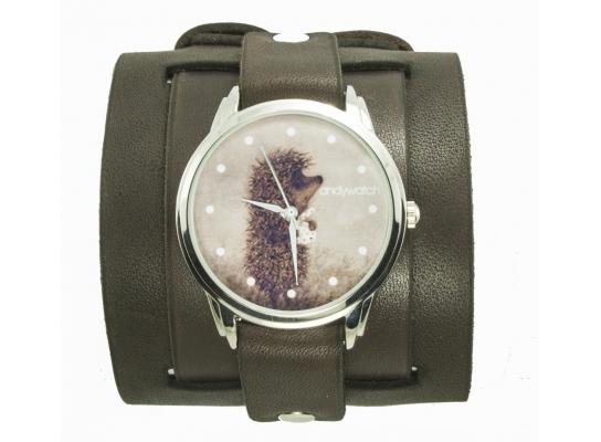 Наручные часы на эксклюзивном ремешке Ежик в тумане фото