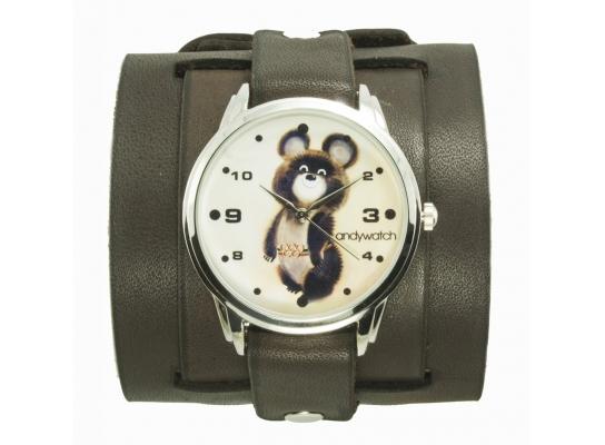 Наручные часы на эксклюзивном ремешке Олимпийский мишка фото