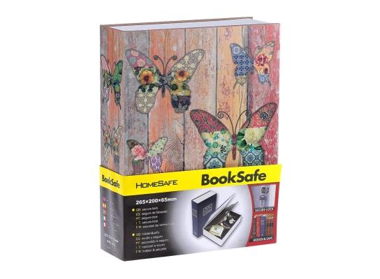Книга - сейф Бабочки Большая фото