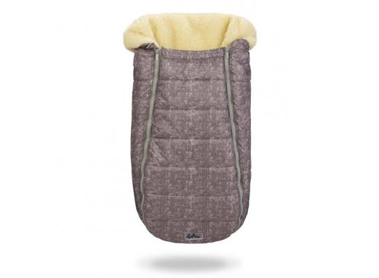 Конверт -кокон меховой Baby XS Меланж фото