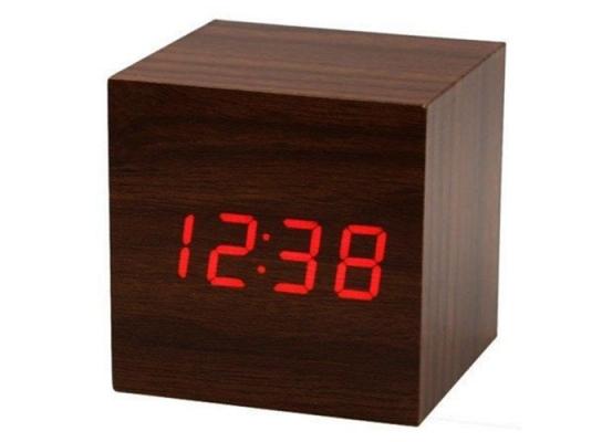 Часы Куб 6х6х6 см фото