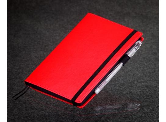 Блокнот с черной бумагой Красный стандарт фото