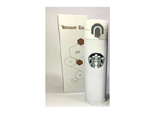 Стильный термос Starbucks White фото 3