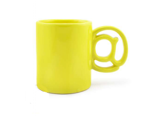 Чашка Собачка @ Желтая фото