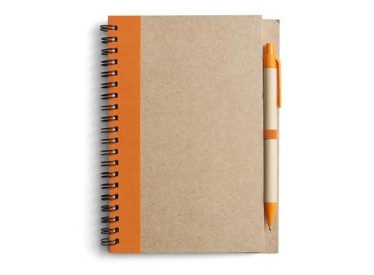 Блокнот для записей с ручкой фото