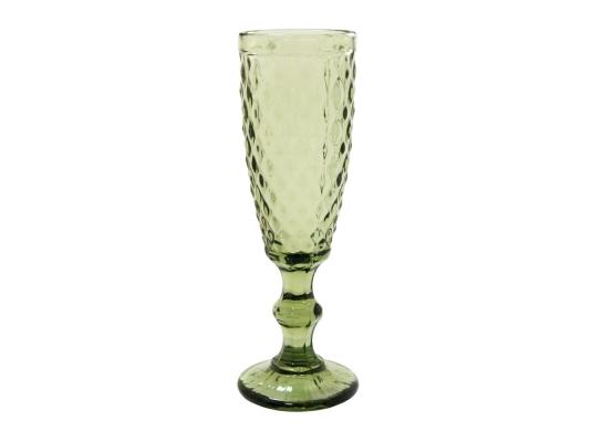 Бокал для шампанского VINTAGE зеленый, 160 мл. look 704 фото