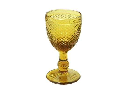 Бокал для вина золото, 250 мл фото