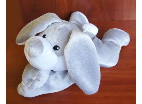Игрушка-грелка Плюшевый Зайка фото 3