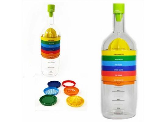Кухонное приспособление 8в1 Волшебная Бутылка фото