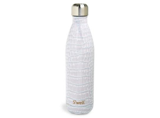 Бутылка для воды Blanc Crocodile S'Well фото