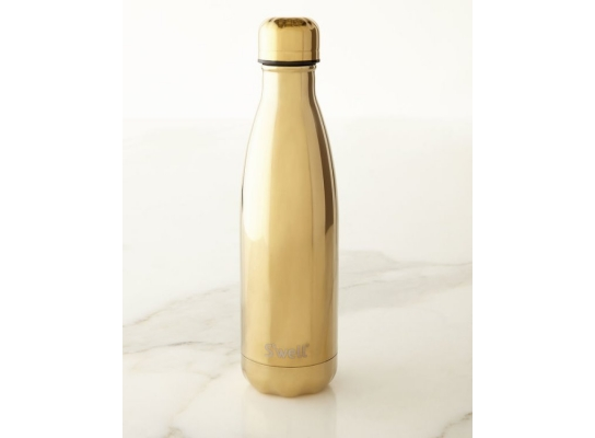 Бутылка для воды S'Well Water Yellow Gold 0,5 мл фото