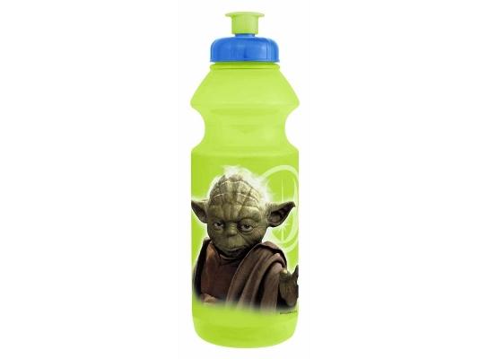 Бутылка для воды спортивная с поильником Master Yoda фото