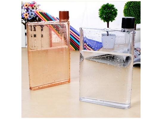 Дизайнерская бутылка для воды Memo Notebook А5 фото