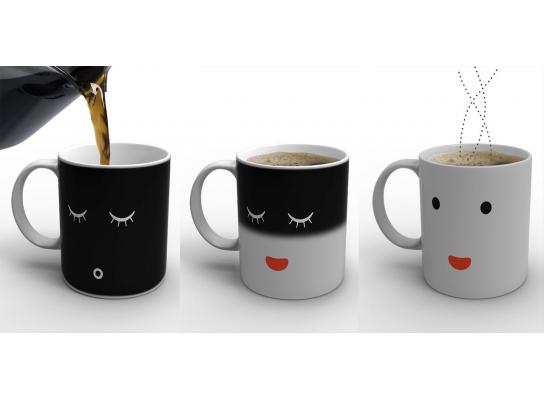 Чашка-хамелеон Доброе утро! фото