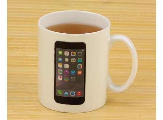 Чашка-хамелеон Iphone фото