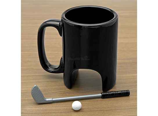 Чашка с игрой в гольф