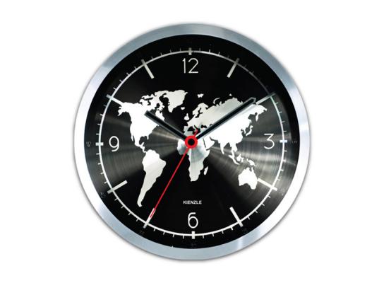 купить Часы настенные Карта мира