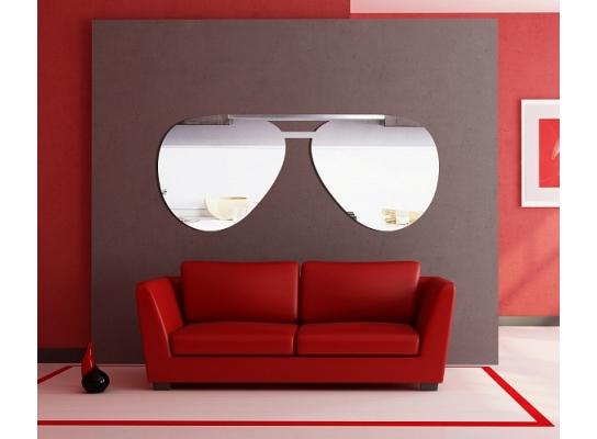 Декоративное акриловое зеркало Очки фото