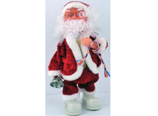 Музыкальный Дед Мороз 28 см фото