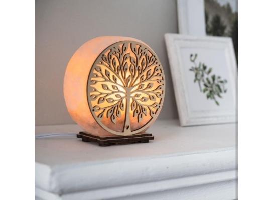 Соляная лампа Дерево жизни фото