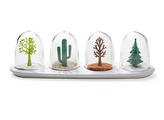 Набор для специй Деревья - четыре сезона фото