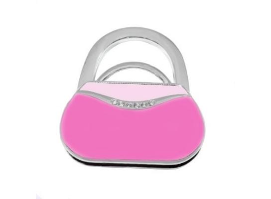 Вешалка для сумки Розовый Клатч фото