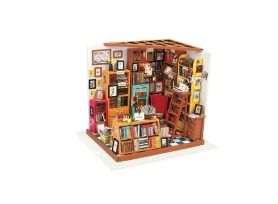 Кукольный домик «сделай сам». «Библиотека» фото