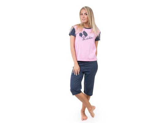 Пижама с короткими рукавами Дальмина фото