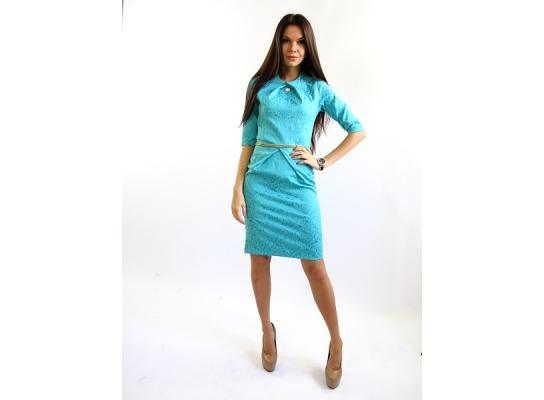 Платье бирюза Графиня фото