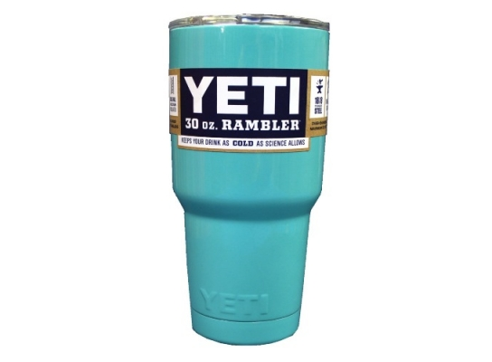 Чашка YETI Rambler Tumbler 20 OZ Голубая фото, купить, цена, отзывы