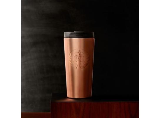 Термокружка Starbucks Siren Tumbler - Apricot 453мл фото 1