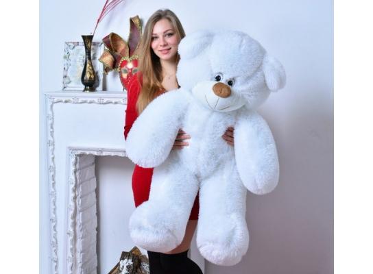 Плюшевый медведь Украина 135 см Белый фото 1