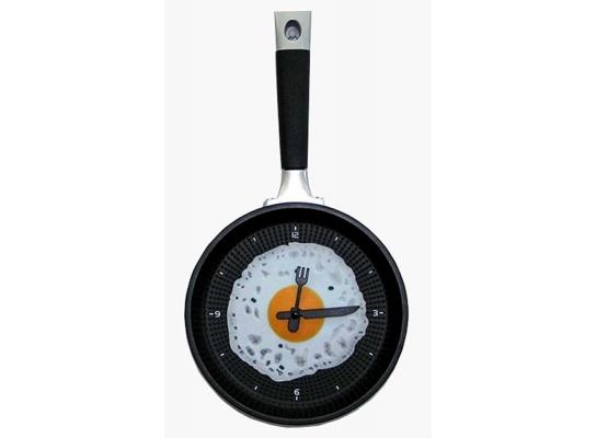 Часы настенные Сковорода глазунья фото