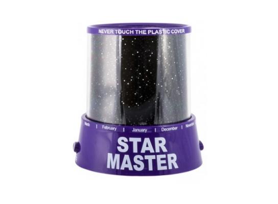 Проектор звездного неба Star Master Purple фото