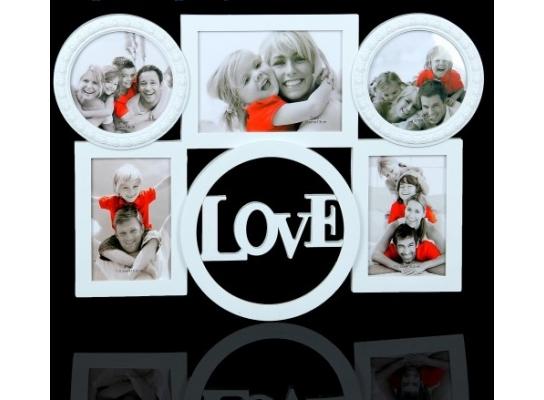купить Фотоколлаж на 5 фото Чувство любви