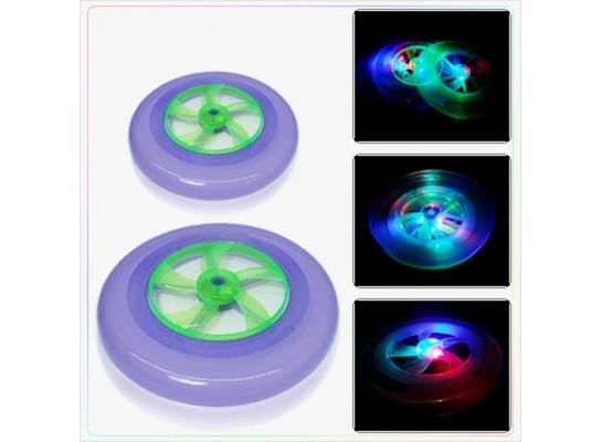 Летающая тарелка с подсветкой Фрисби фото